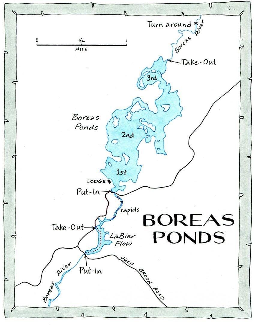 Boreas Ponds NANCYBERNSTEINILLUSTRATION.COM