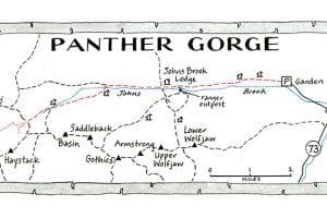 Panther Gorge: Not secret, but safely remote