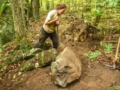 The state pays the Adirondack Mountain Club and other groups to maintain trails. PHOTO BY NANCIE BATTAGLIA