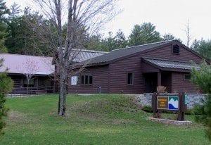 Adirondack Park Agency building.