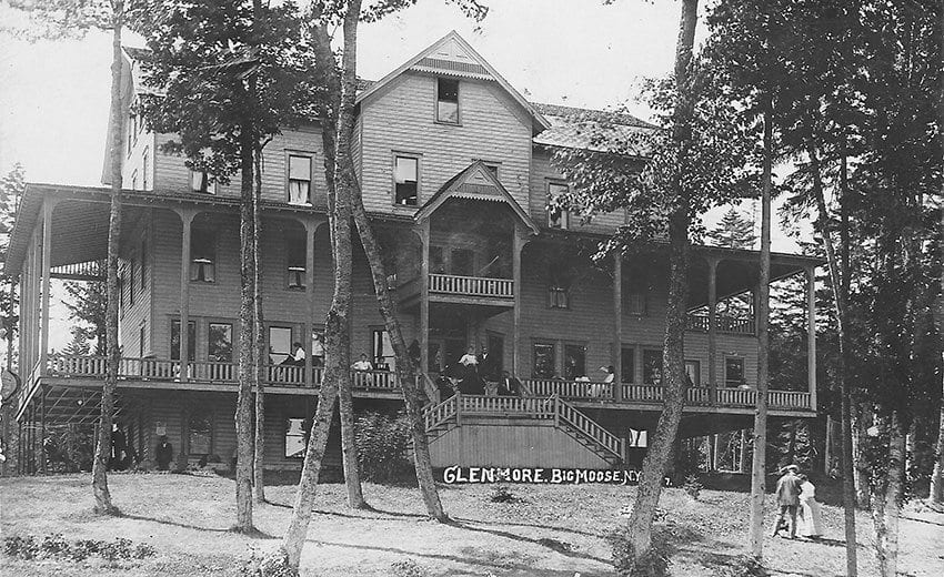 Chester Gillette And Grace Brown Stayed At The Glenmore Hotel In Moose Lake