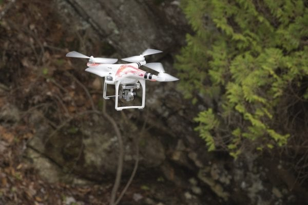 The DEC is currently working on new regulations for drones in the Forest Preserve.