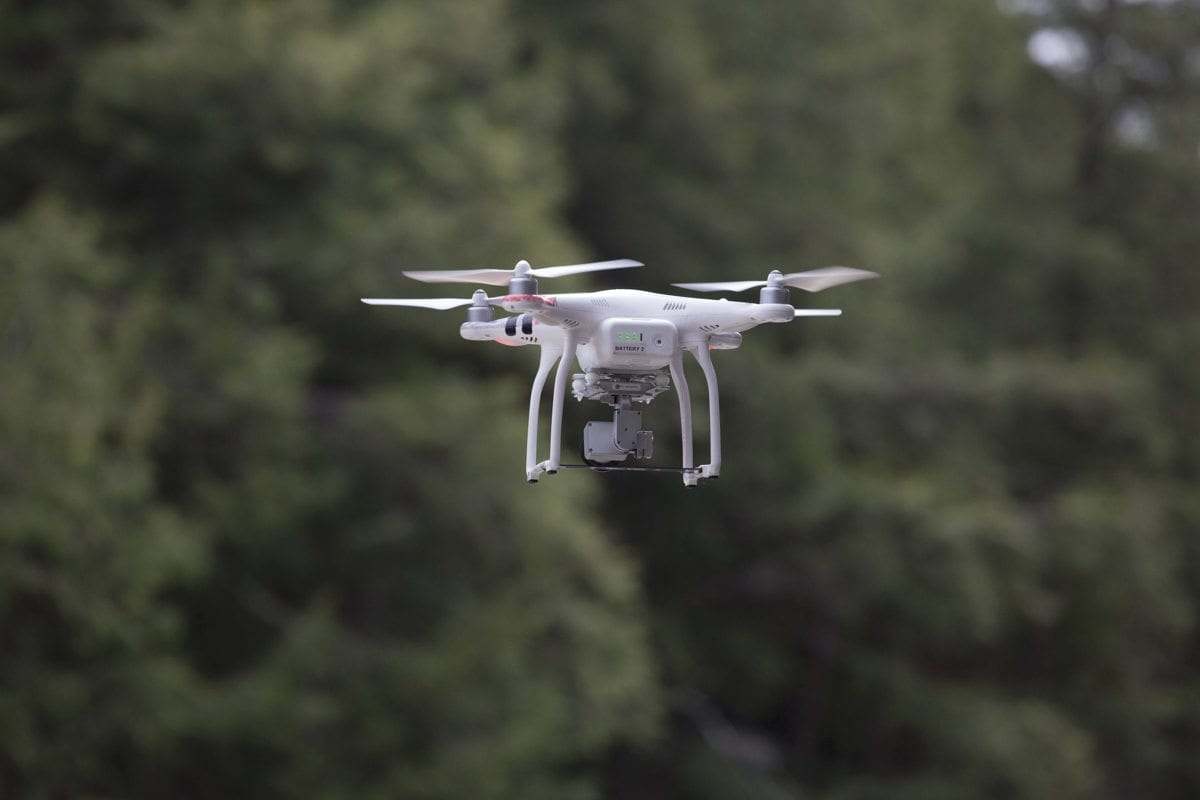 DEC is working on regulations for drones in the Forest Preserve.