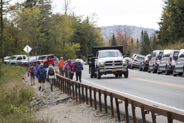 DEC moves Cascade Trailhead over Columbus Day weekend