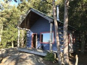 Thomas Mt. cabin