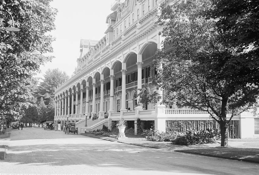 William Henry Hotel Lake George