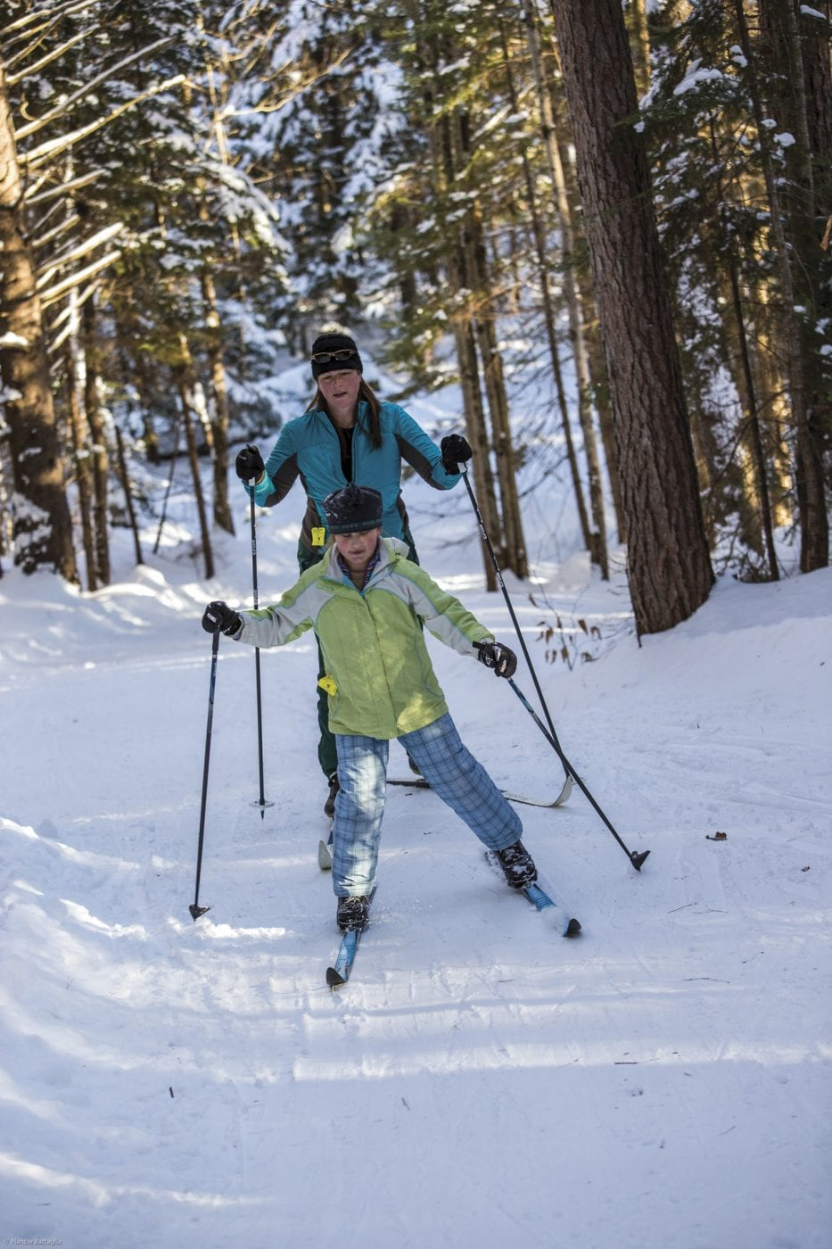 Lapland Lake Ski Touring Center and Resort is one of the many Cross-Country Ski Centers in the Adirondack Park.
