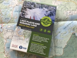 Lake Placid winter map