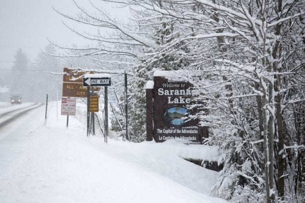The Saranac Lake region was hit with another storm this week, with about 6 to 8 inches of snow falling on Tuesday and Wednesday. Above are some photos from the recent storm.