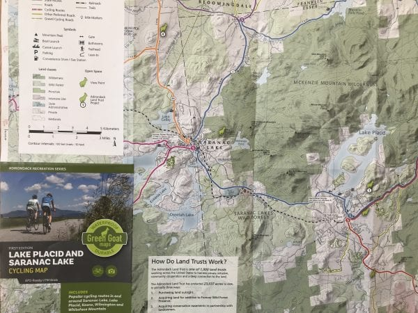 Green Goat releases cycling map for Saranac Lake-Lake Placid ...