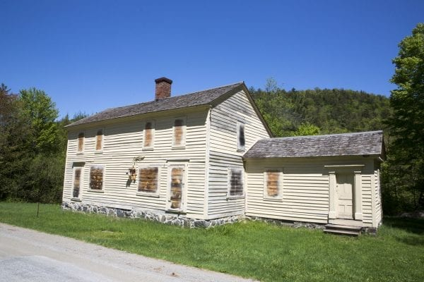The MacNaughton House from the old mining village of Tahawus.