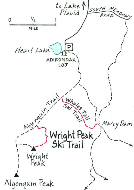 Wright Peak Ski Trail reroute