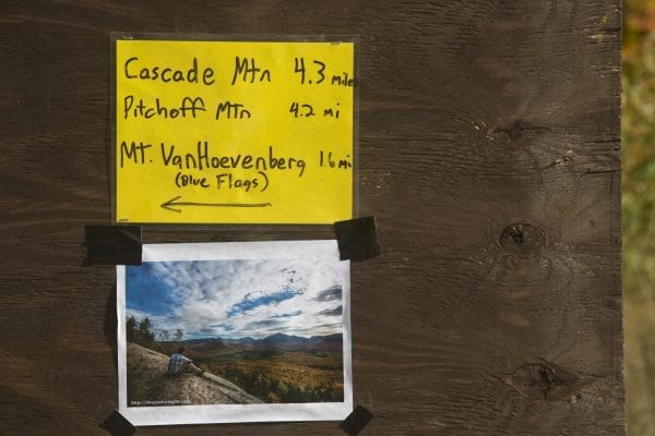 Hikers are being encouraged to hike peaks other than popular ones.