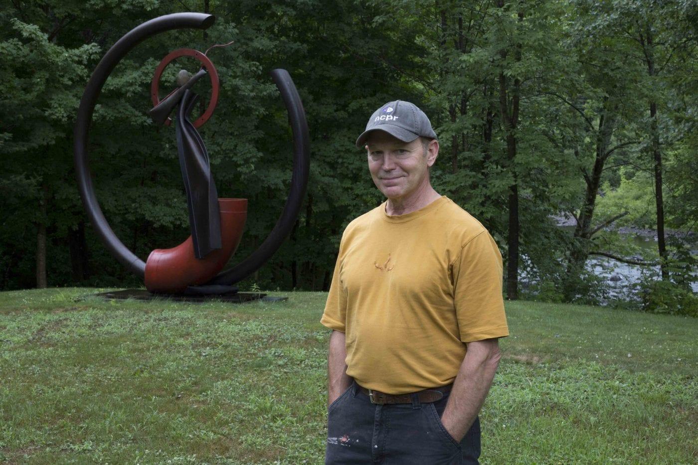 Artist John Van Alstine uses nature as inspiration