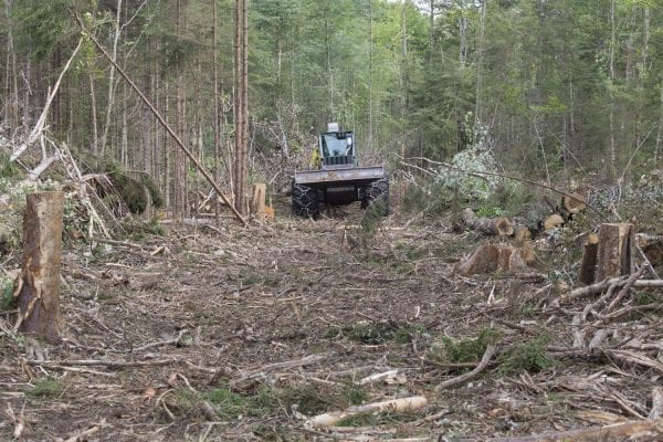 The Santa Clara Tract in the northern Adirondacks owned by the Molpus Woodlands Tract Group is subject to a state conservation easement.