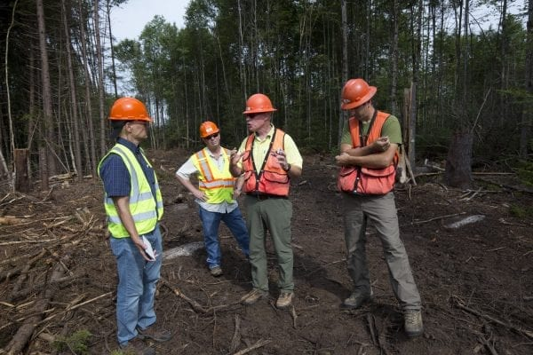 The Adirondack Explorer toured part of the Santa Clara Tract in the northern Adirondacks with the Molpus Woodlands Tract in early August. Above are photos from that trip.