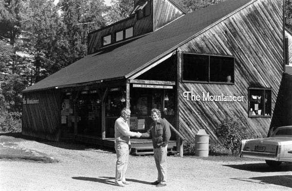Images of the Mountaineer through the years. The iconic Keene Valley gear shop was sold from the McClelland family to the Wise family late in 2018. Photo provided by Vinny McClelland.
