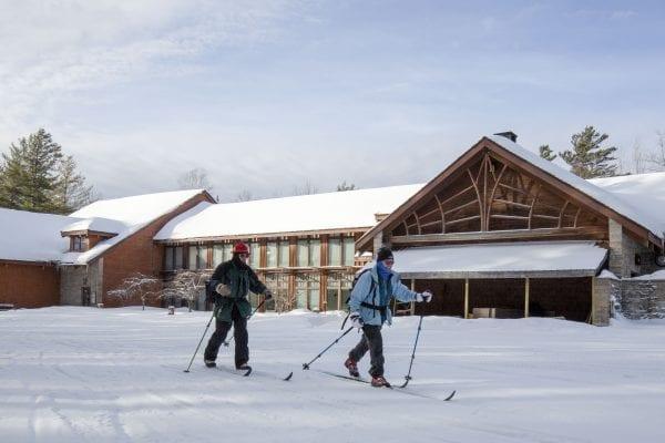 Paul Smith's VIC skiing