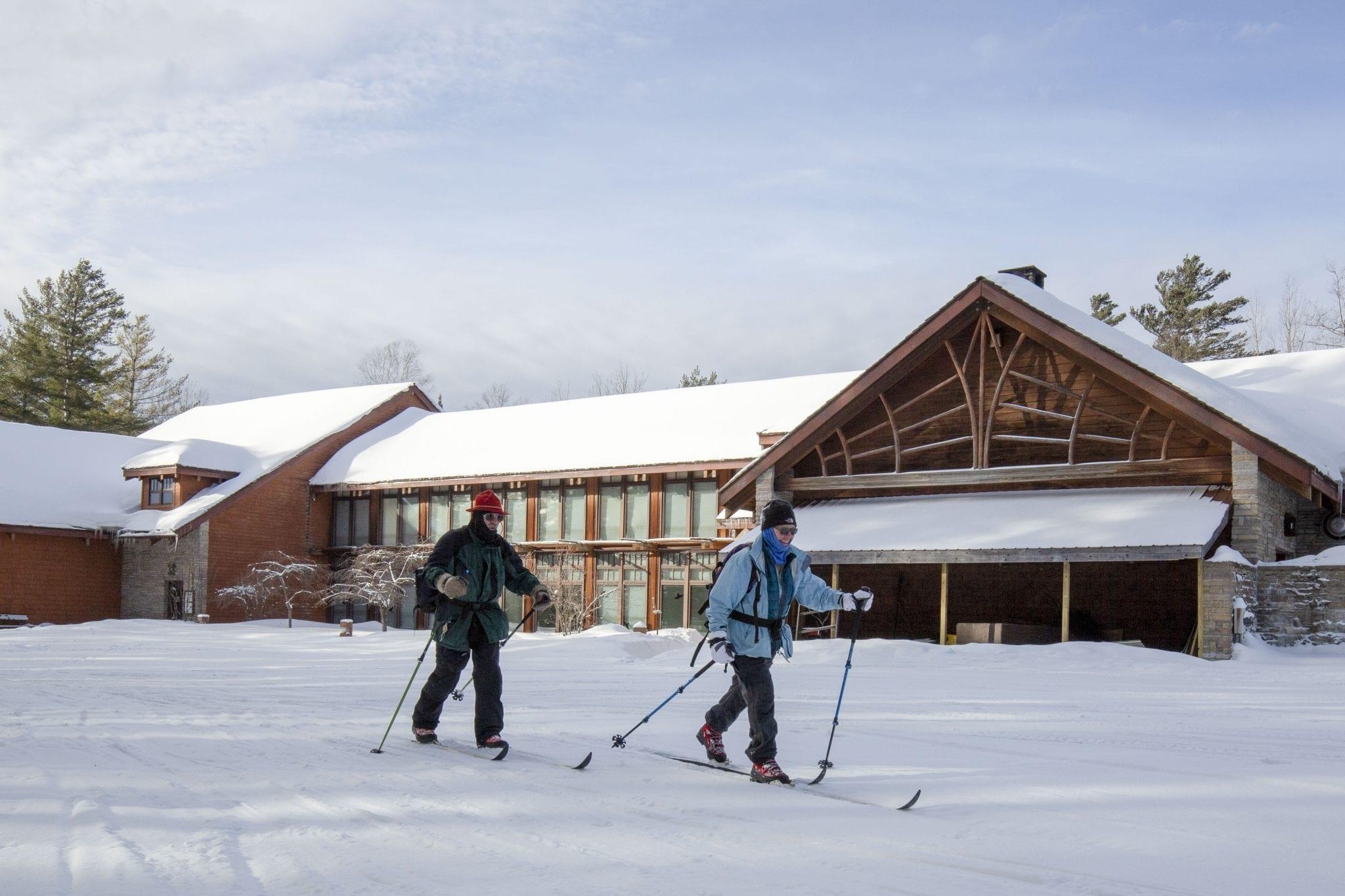 Paul Smith's College ski trails