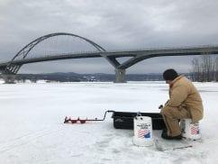 Lake Champlain ice