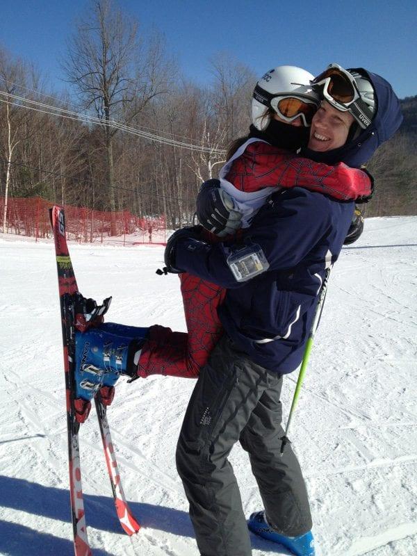 Michael Hannagan and daughter.