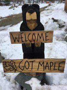 got maple sign