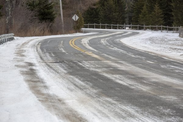River Road near Lake Placid. Photo by Mike Lynch