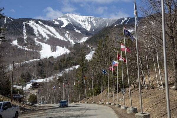 Whiteface Mountain in Wilmington on April 1. Photo by Mike Lynch
