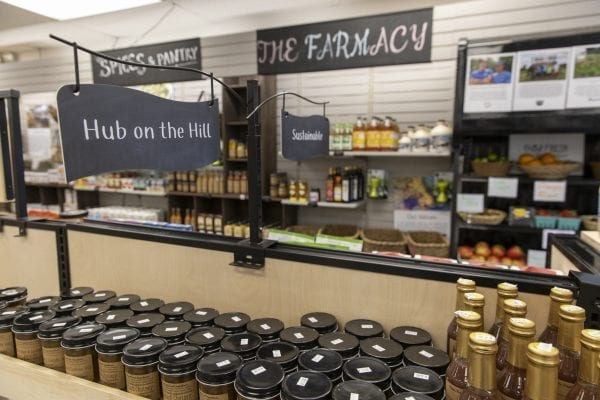 The Keeseville Pharmacy has started selling food to meet a demand in the local market. The Pharmacy has been able to add food to its business model with the help of ADK Action. Photo by Mike Lynch