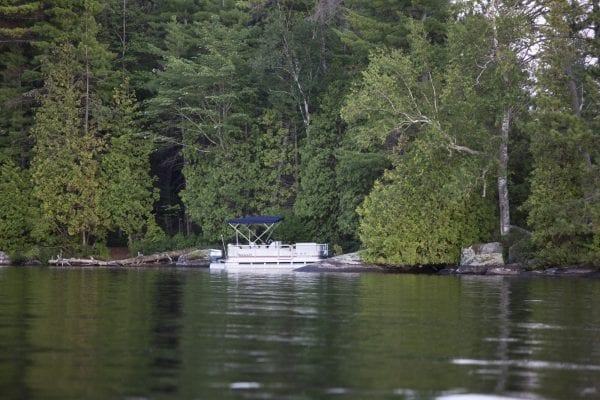 Lower Saranac Lake is a popular destination for camping and is part of the Saranac Lake Islands state campground. Photo by Mike Lynch