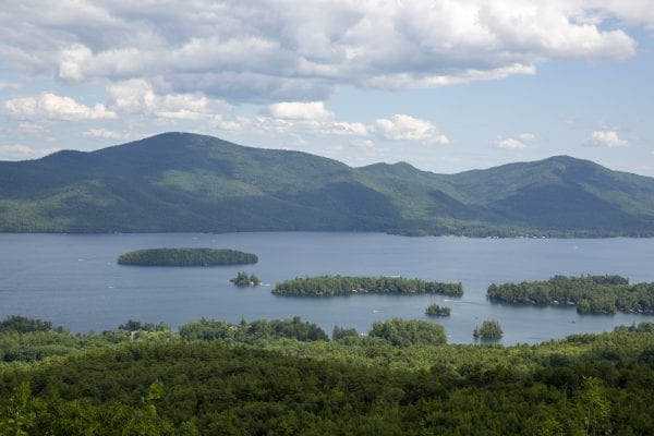 A view of Lake George from Pinnacle Mountain. Photo by Mike Lynch