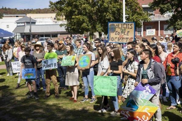 Saranac Lake climate strike