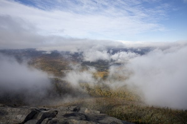 The view from Cascade Mountain on Sunday, September 29. Photo by Mike Lynch