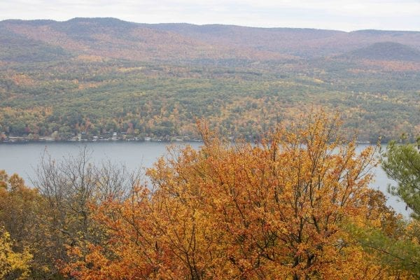 A view of Lake George from Anthony's Nose. Photo by Mike Lynch
