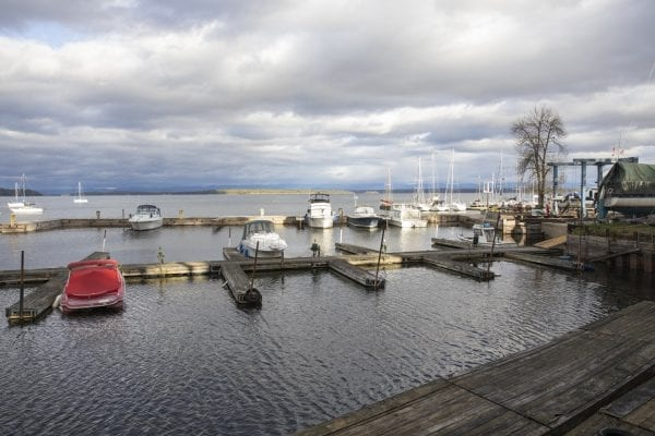 A view of Lake Champlain from Westport. Photo by Mike Lynch