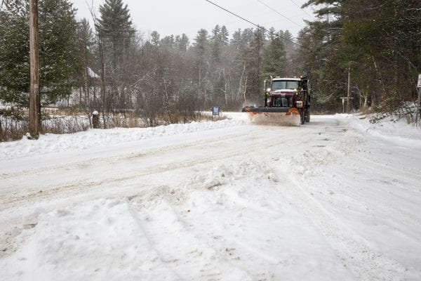 Snow scenes around Saranac Lake on November 12 when the region was hit with its first real storm at the lower elevations. Photo by Mike Lynch