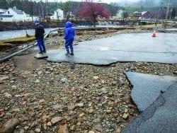 Wells flooding