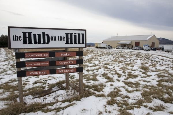 The Hub on the Hill is a nonnprofit in Essex that works with farmers to help them process and distribute their food products. Photo by Mike Lynch
