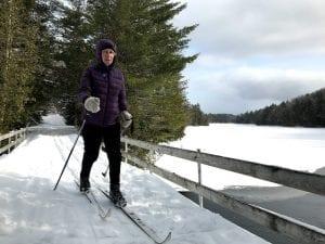 Santanoni skier