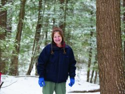 Kathleen Suozzo, a Bolton Landing engineer, works on water and sewage treatment plants in the Adirondacks.