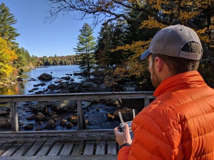 Long Lake drone