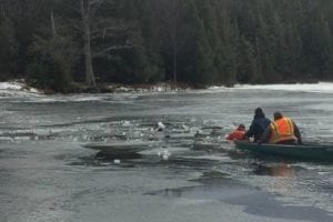 Forest rangers rescue a hunter, a climber and two anglers