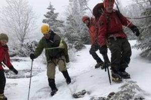 Wilderness rescues on Whiteface, Dix Range