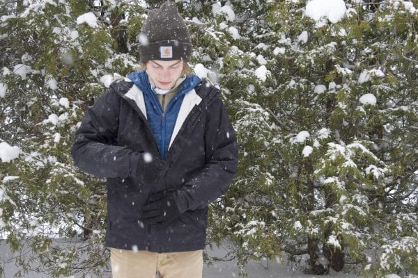 Cold winter hikes demand layering