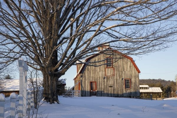 A barn on the Penfield Homestead in Essex County. Photo by Mike Lynch