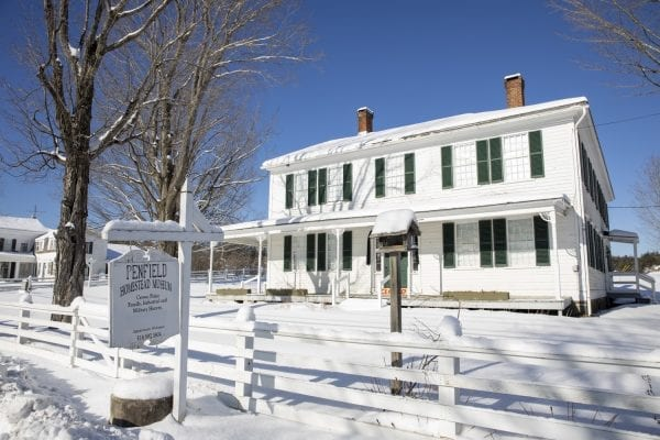 The Penfield Homestead dates back to the 1800s. Photo by Mike Lynch
