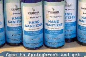 Distilleries produce sanitizer