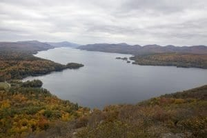 A short hike to great views on Lake George