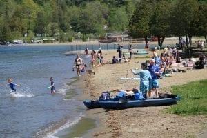 Tourists return to Lake George