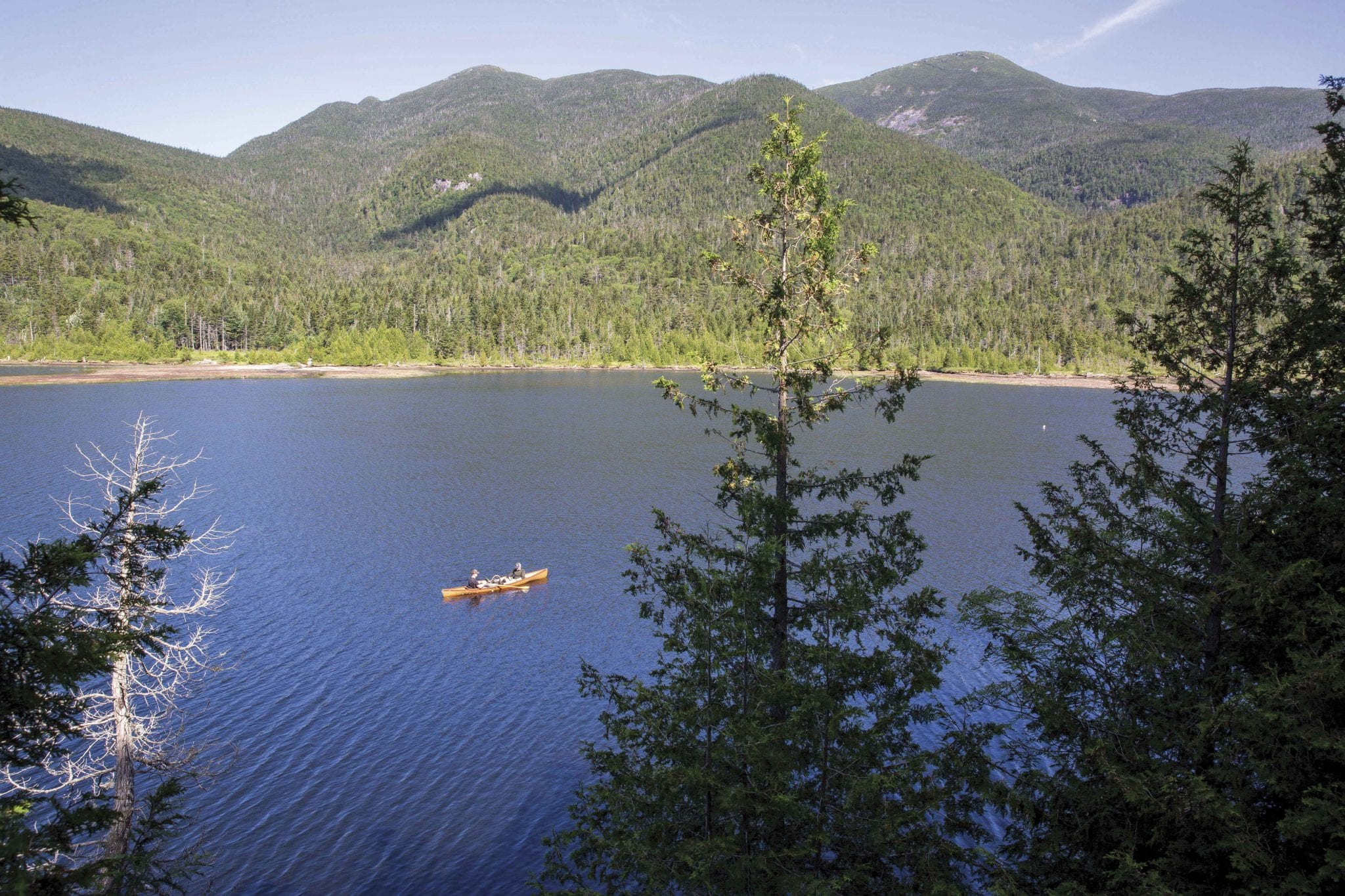 Lake Colden anglers